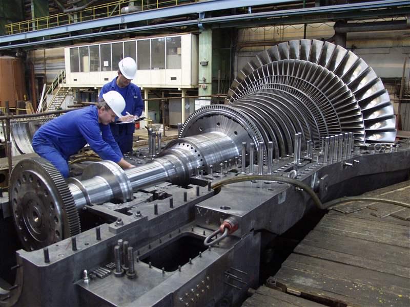 Строительство электростанции