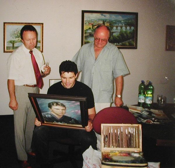 Валерий Гудименко и Яромир Ягр