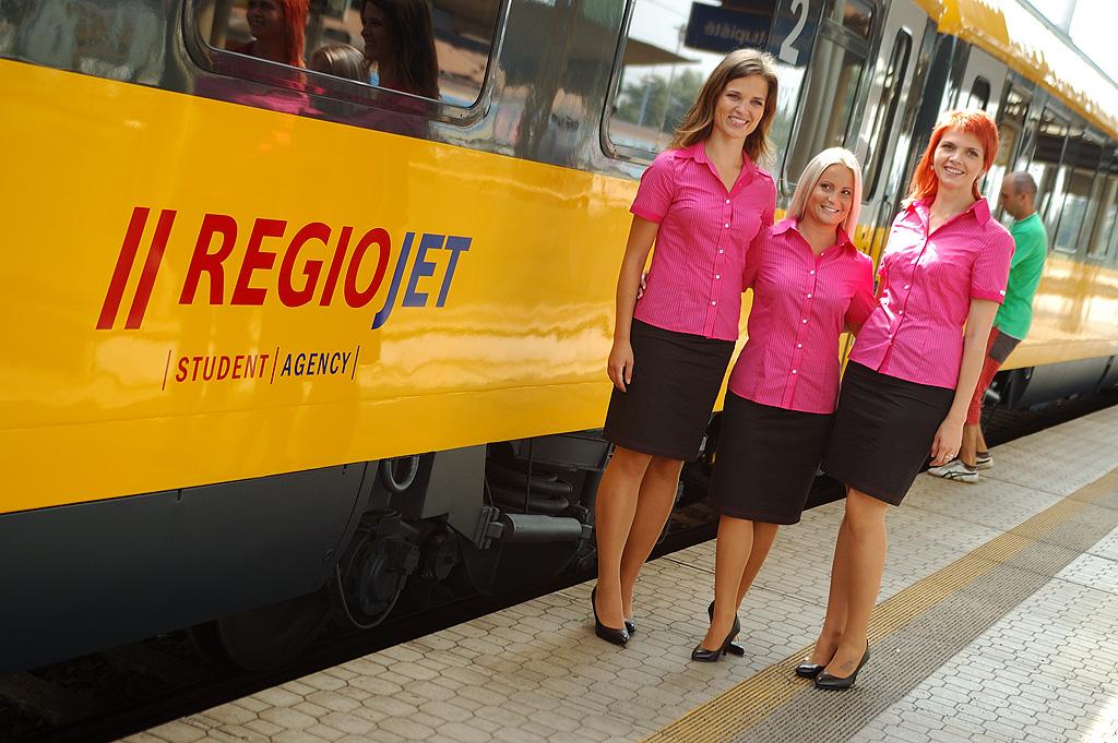 Поезд IC RegioJet