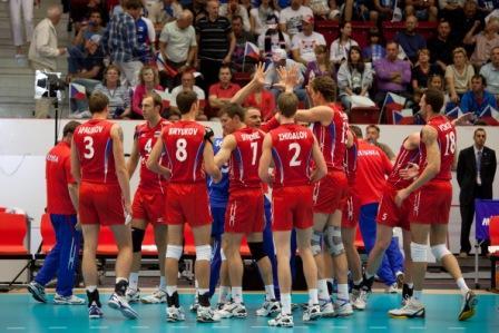 Победа российской сборной по волейболу