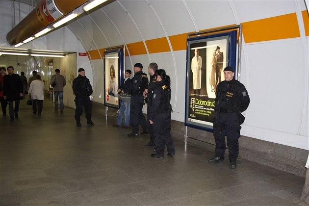 В Праге проводится облава на иностранцев