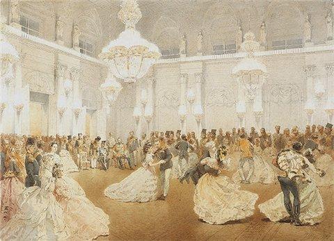 Русский бал XIX в. в Праге