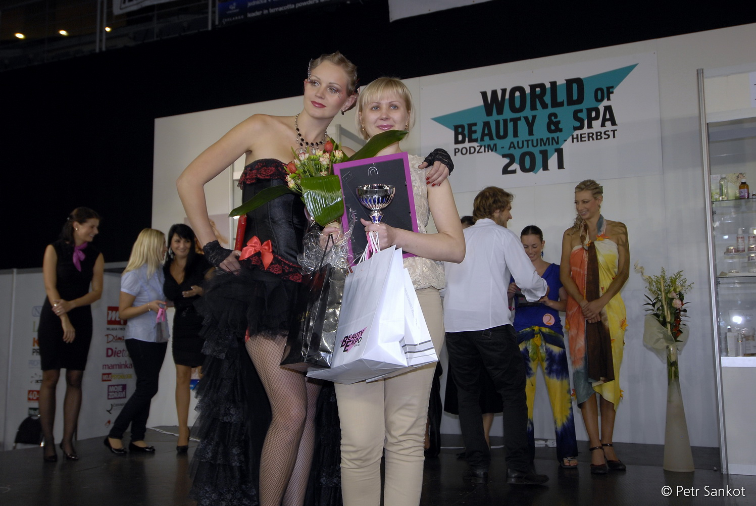 Светлана Райхман и её модель