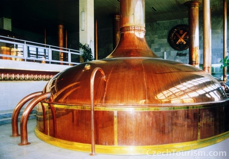 Чешский пивзавод в Страконицах