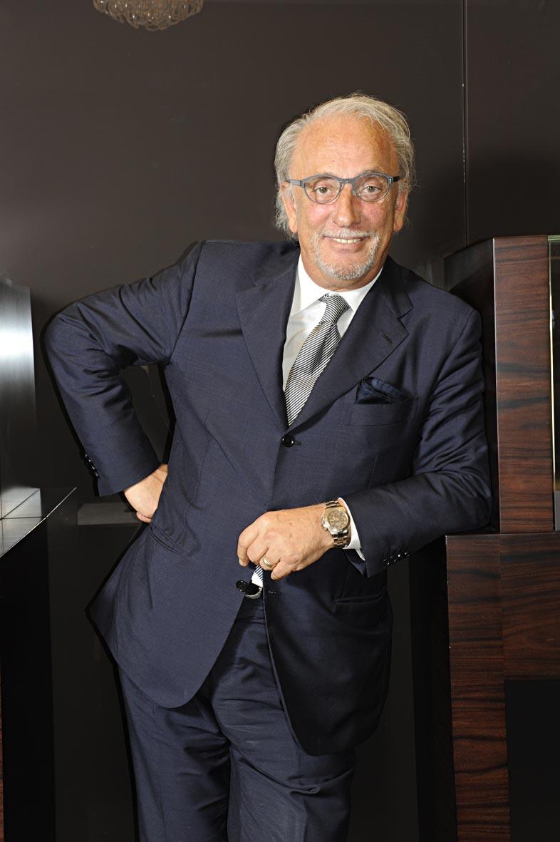 Роберто Коин в Праге рассказал о неожиданном повороте в развитии бренда