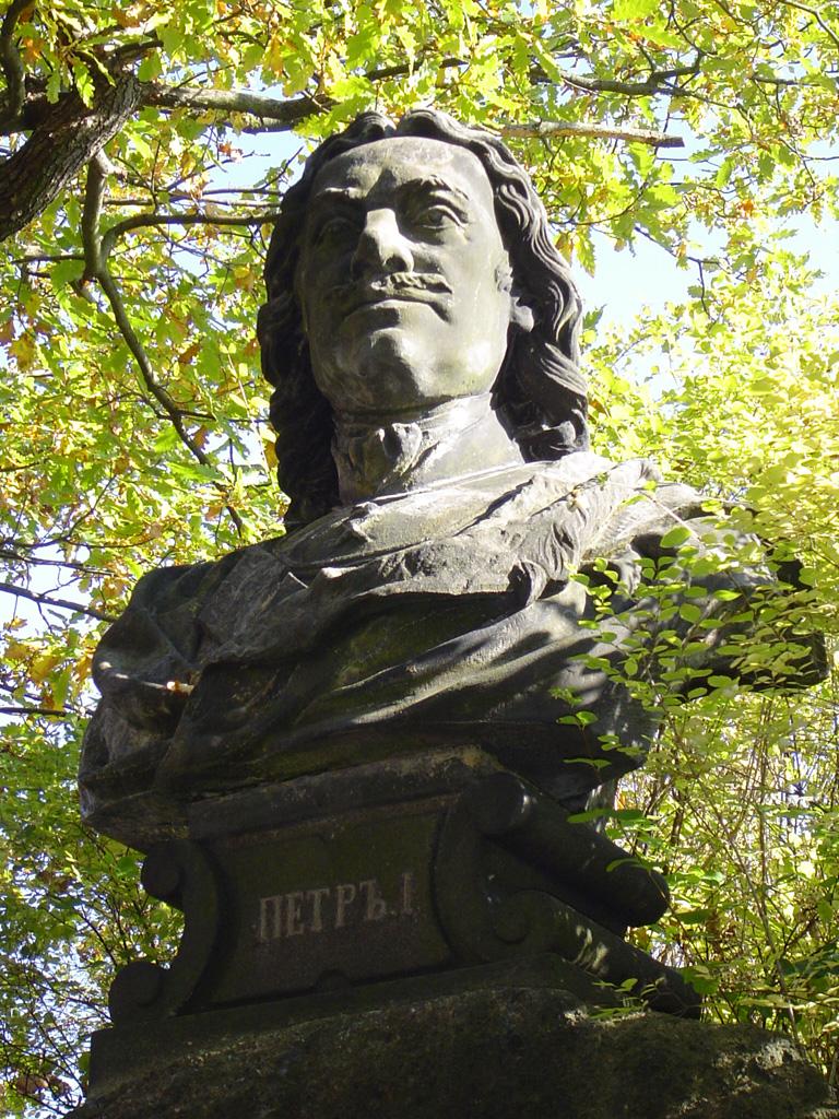 Памятник Петру Великому в Карловых Варах
