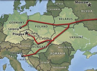Чехия планирует перекачивать нефть в Саксонию по нефтепроводу «Дружба»