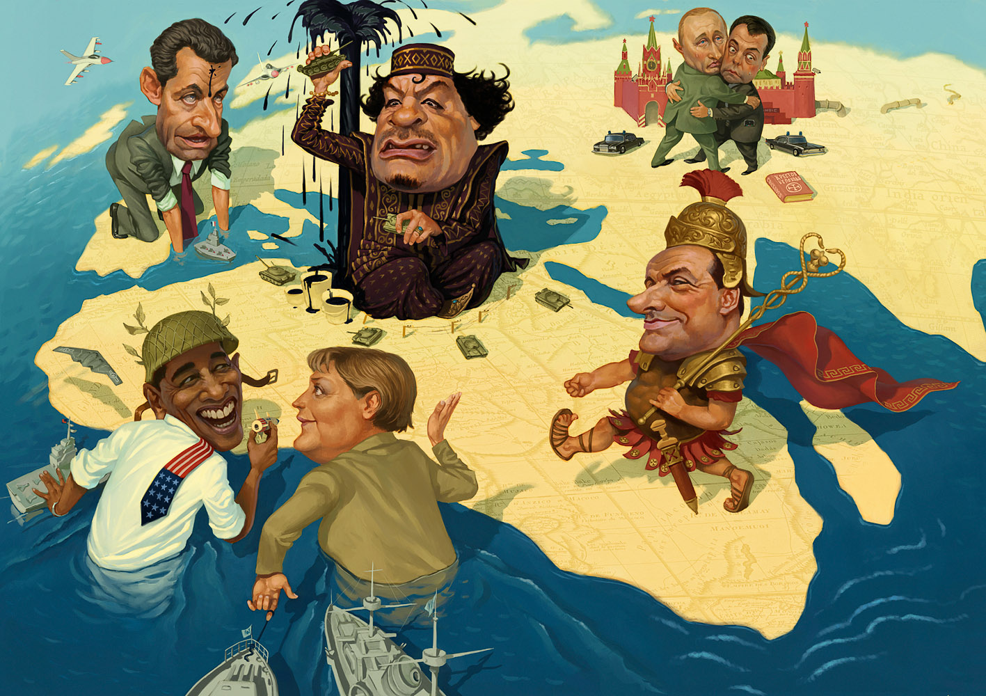 Нужна ли Ливии Европа