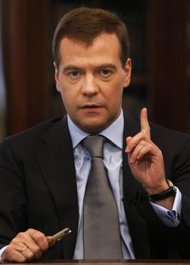 Дмитрий Медведев посетит Прагу 7-8 декабря.