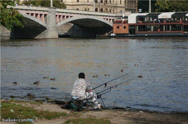 Прага - рыболовецкий рай