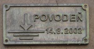В Праге может появиться памятник наводнению 2002 года