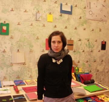Дениса Хаврдова, одна из основателей Papelote