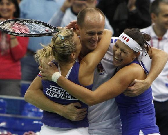 Женская теннисная сборная Чехии завоевала Кубок Федерации.