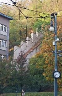 «Голодная стена» в Праге