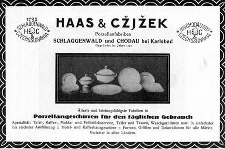 Фарфоровый завод Haas a Czjzek