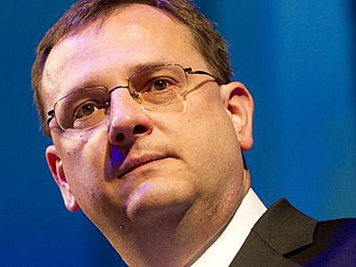 Премьер-министр Чехии Петр Нечас