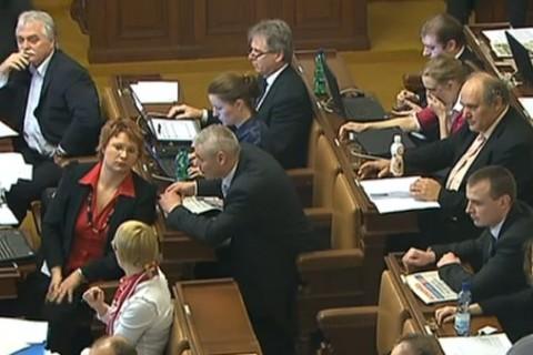 Перепалка в парламенте