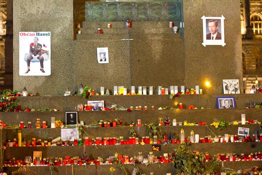 Вацлав Гавел умер в возрасте 75 лет