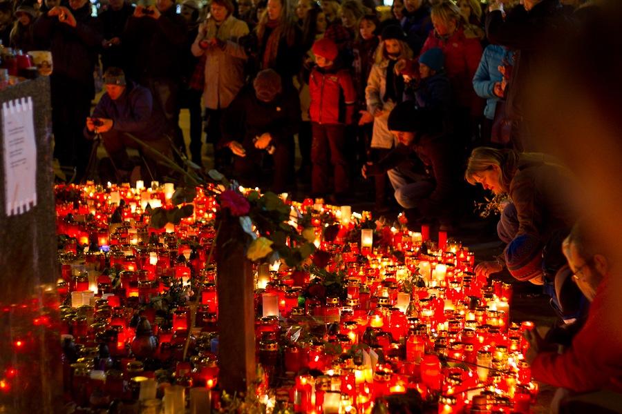 Похороны Гавела состоятся 23 декабря. Фото: Илья Ткач