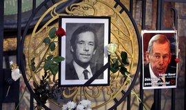 Прах Вацлава Гавела захоронен в семейном склепе