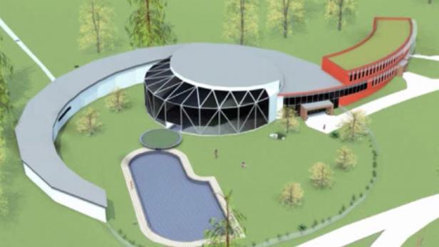Проект термального парка в Велке Лосинах