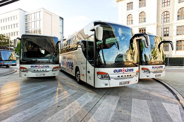 «Пражский телеграф» теперь на рейсах компании Eurolines – Touring Bohemia