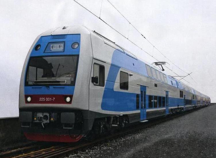 На Украине появятся чешские двухэтажные поезда