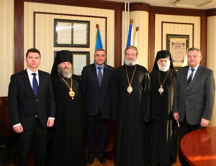 Делегация Православной Церкви Чешских Земель и Словакии