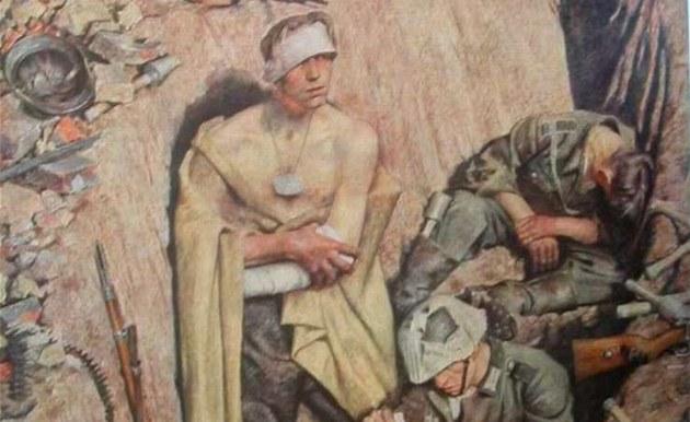 Картины из личной коллекции Гитлера найдены в Чехии