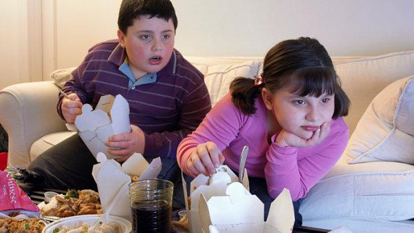 Дети в Чехии страдают от ожирения