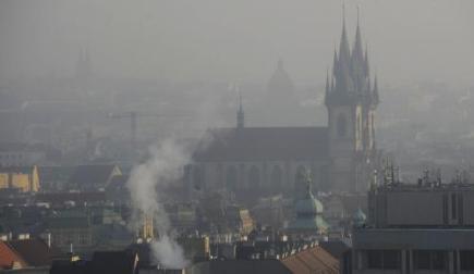 В Праге протестуют против смога