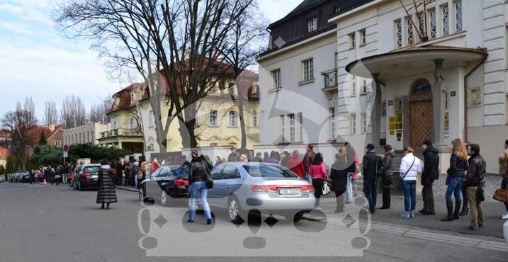 На выборы президента РФ в Чехии явилось рекордное число избирателей