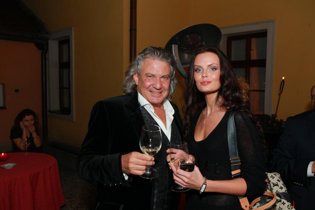 Джорджио Бонелли, владелец Alchymist Luxury Group и «Мисс Россия» Юлия Лошагина