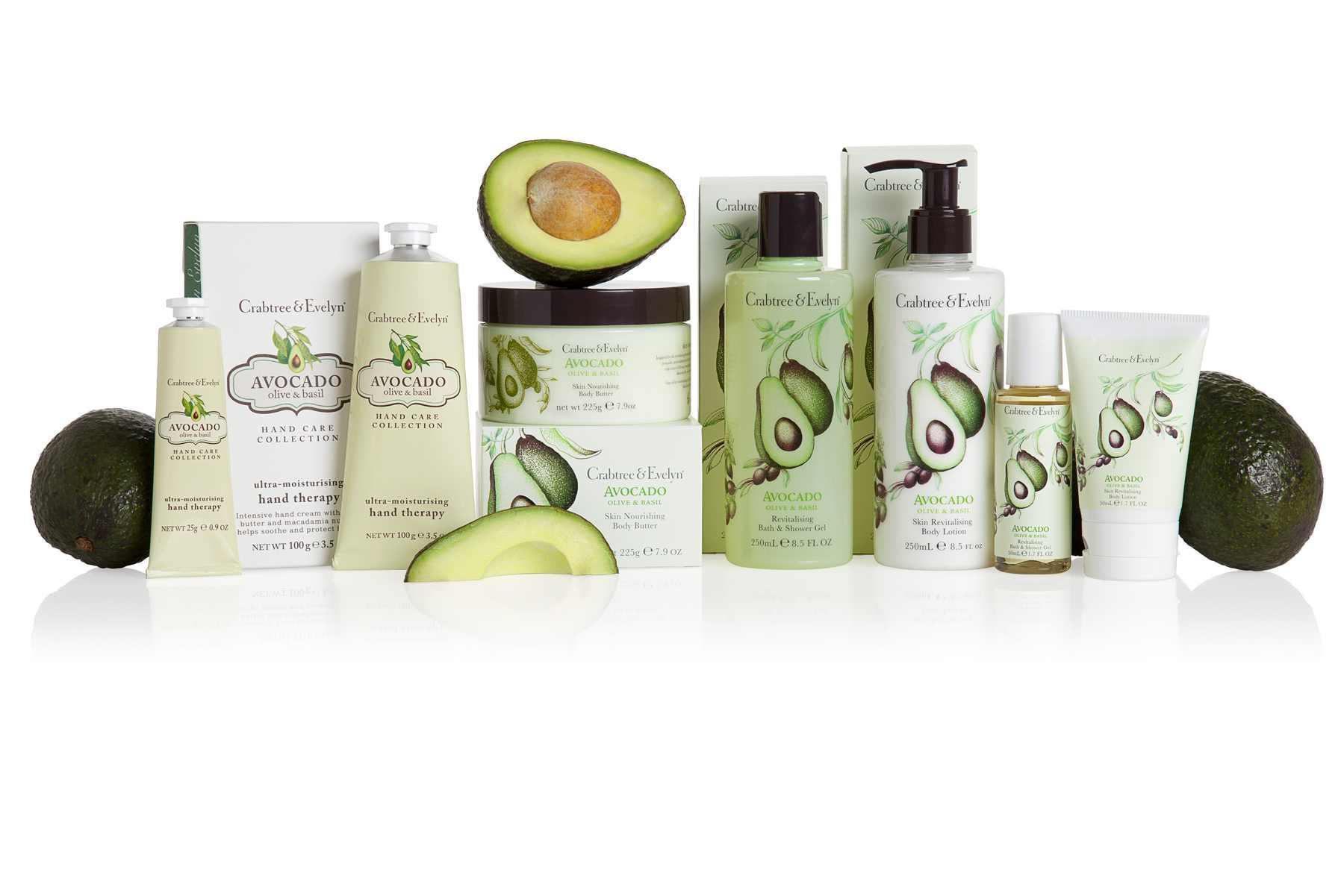 Основу новой коллекции составляют авокадо, оливки и базилик