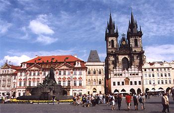 Чехия всё более популярна у российских туристов
