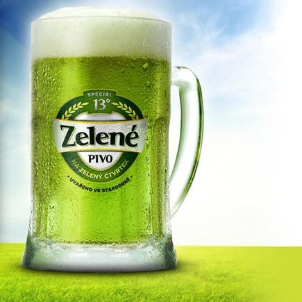 Традиции зелёного пива уже 7 лет