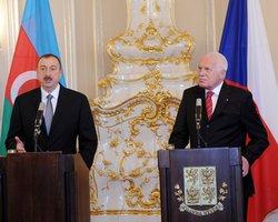 Главы государств на переговорах в Праге