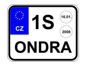 Свою комбинацию цифр и букв может придумать каждый водитель