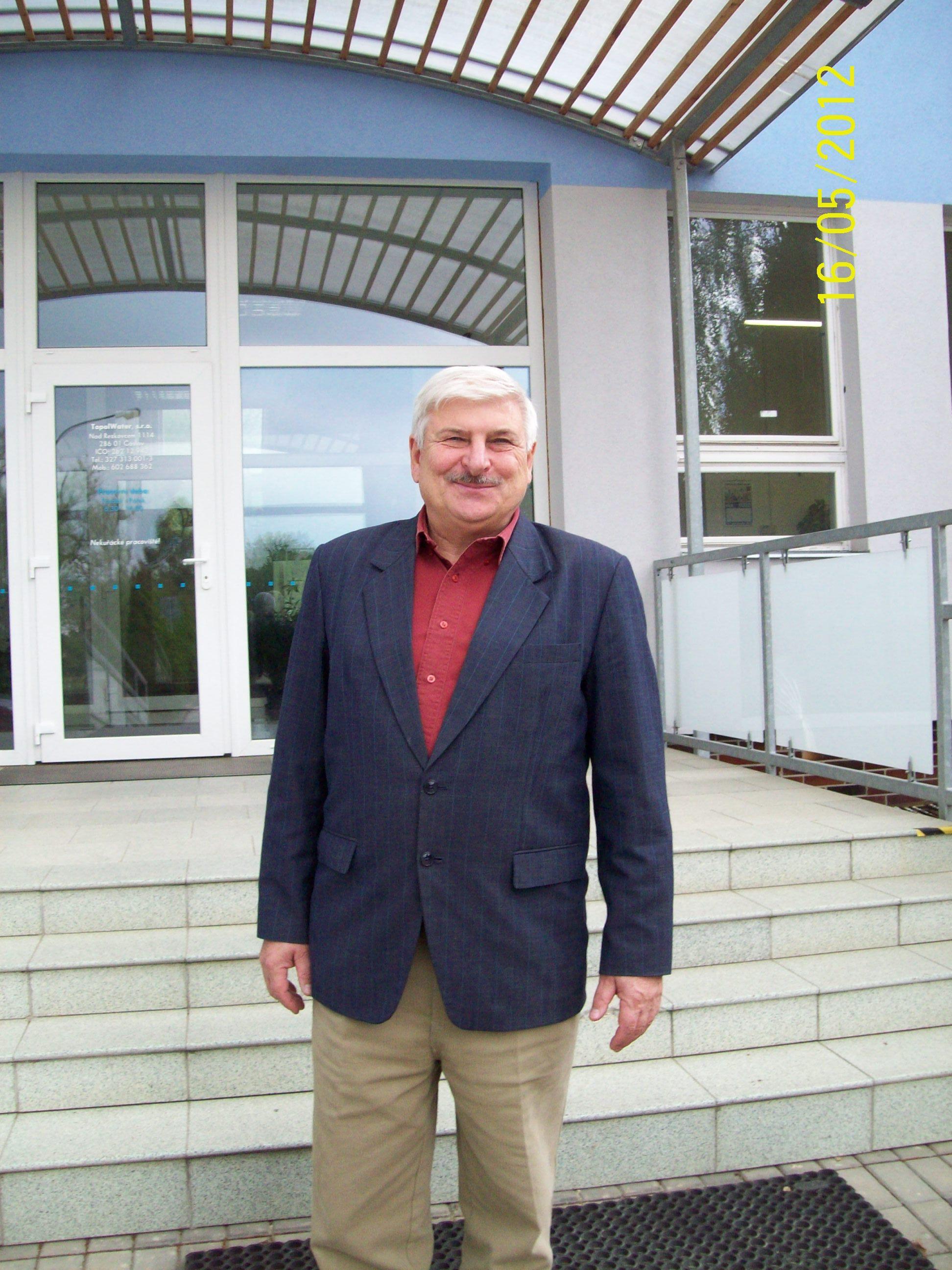 Чешский предприниматель Ян Топол