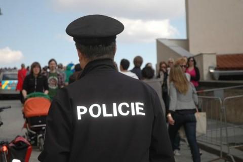 Беспорядки в центре Праги контролировала полиция