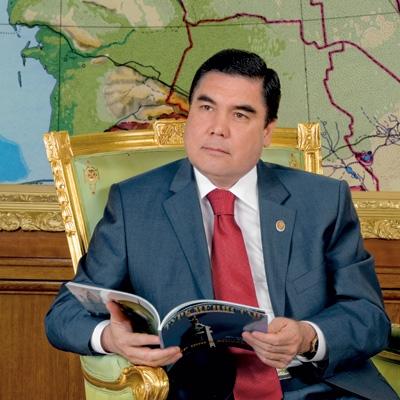 Президент Туркменистана Гурбангула Бердымухаммедов