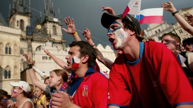 Чешские болельщики не хотели смириться с проигрышем
