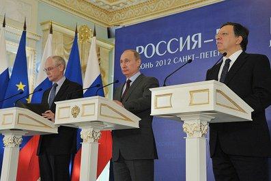 Путин - за отмену виз в страны Евросоюза