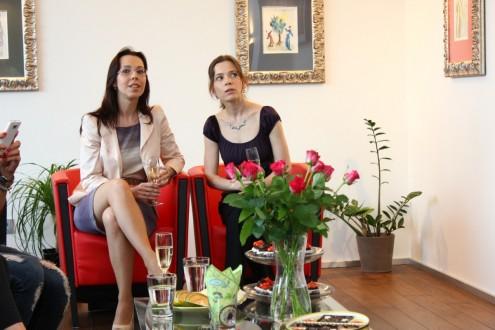 Люция Мансфелдова и Анета Климешова