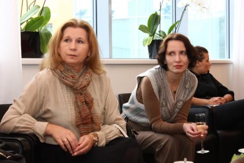 Ольга Глотова и Алиса Пирогова