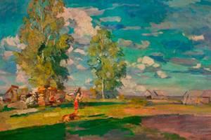Картина Коровина продана на аукционе в Праге
