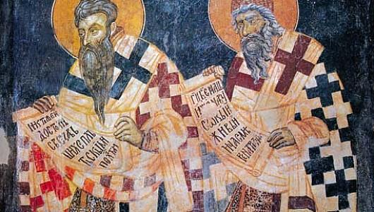 Кирилл и Мефодий прославились созданием славянской азбуки