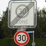 На главных улицах района скорость останется прежней – до 50 км/ч.