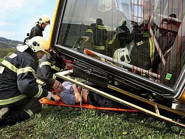 На Украине перевернулся пассажирский автобус