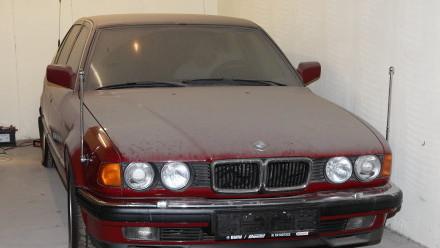 Сейчас BMW находится в одном из пражских гаражей